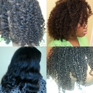 My Hair In It's Many Stages - LovedByBrittany