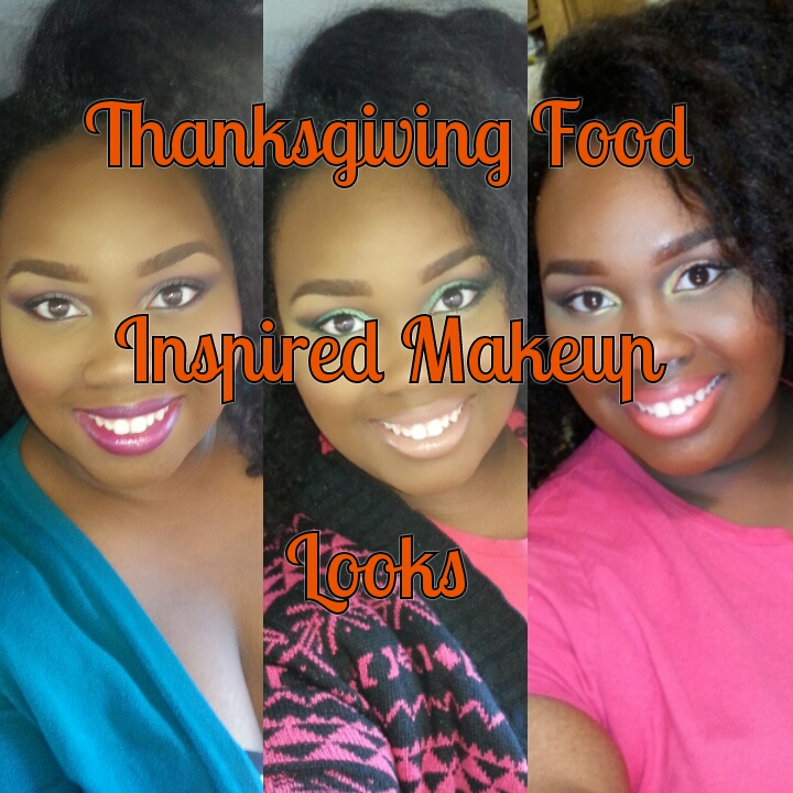 Thanksgiving Food Inspired Makeup Looks